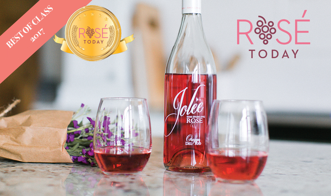 Rose Jolee best domestic sweet rosé Rosé Today 2017